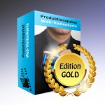 Produktionspaket Web-Visitenkarte, Edition Gold