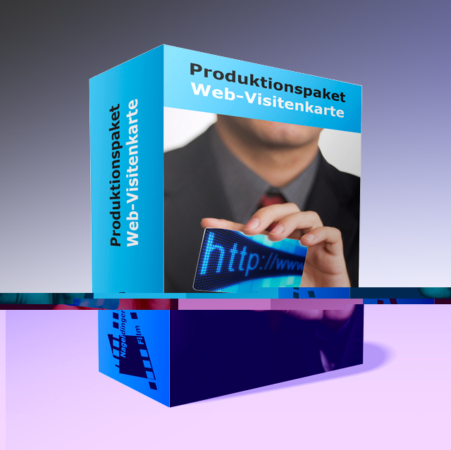 Produktionspaket Web-Visitenkarte