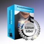 Produktionspaket Web-Visitenkarte, Edition Silber