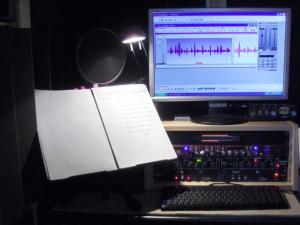 Blick ins Tonstudio von Nageldinger Film
