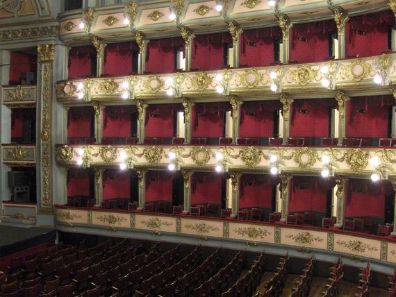 Theater in Bogotá, Kolumbien